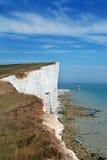 Beachy Head. Englands south coast Stock Photography