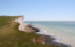 Beachy Head. Royalty Free Stock Images
