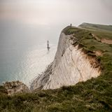 Beachy Head, West Sussex, UK stock images