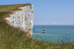 Beachy Head in East Sussex Royalty Free Stock Photos