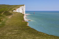 Beachy Head in East Sussex Stock Images