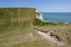 Beachy Head in East Sussex Royalty Free Stock Images