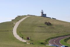 Beachy Head. Eastbourne. England Stock Images