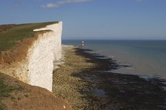 Beachy Head. Eastbourne. England Stock Image