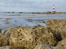 Beachy Head Light House Near Eastbourne Stock Photography