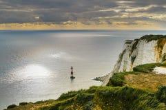 Beachy Head Lighthouse stock images