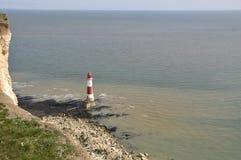 Beachy Head lighthouse, East Sussex Stock Photos