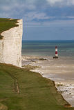 Beachy Head Lighthouse, East Sussex Stock Photography