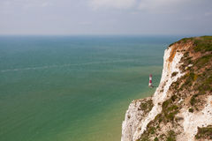 Beachy Head Lighthouse, Eastbourne, East Sussex, England Royalty Free Stock Image