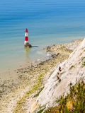 Beachy Head Lighthouse, Eastbourne, East Sussex, England Royalty Free Stock Images