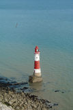 Beachy Head lighthouse. Royalty Free Stock Images