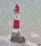 Beachy Head Lighthouse, Sussex England Stock Photo