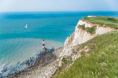 Beachy Head Lighthouse Royalty Free Stock Photography