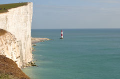 Beachy Head October 10/09 Royalty Free Stock Photo