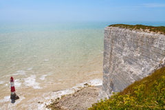 Beachy huvud. Östliga Sussex, England, UK Arkivfoton