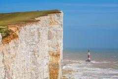 Beachy huvud. Östliga Sussex, England, UK Royaltyfri Bild