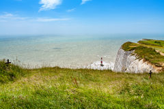 beachy huvud Östliga Sussex, England, UK Royaltyfri Foto