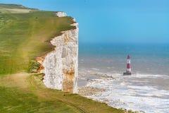 beachy huvud Östliga Sussex, England, UK Arkivfoto