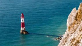 Beachy huvud, östliga Sussex, UK royaltyfri fotografi