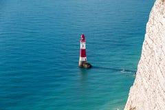 Beachy huvud, östliga Sussex, UK fotografering för bildbyråer