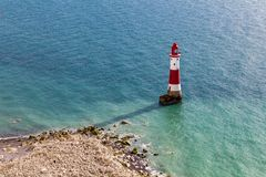 Beachy huvud, östliga Sussex, UK arkivfoto