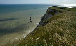 Beachy huvud. Eastbourne. England Royaltyfri Fotografi