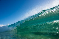 Beack Break Wave Royalty Free Stock Photos