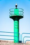 Beacon. New beacon at a harbor Royalty Free Stock Image