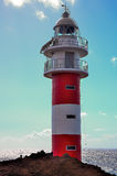 The beacon on the Atlantic ocean Stock Photo