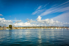Beacon Bay, in Newport Beach  Royalty Free Stock Photography