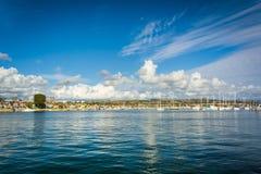 Beacon Bay, in Newport Beach  Royalty Free Stock Photography