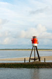 Beacon at Borkum Stock Image