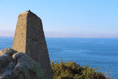 Beacon on breton coast Stock Photography