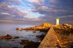 Beacon (Brittany, France) Stock Photos