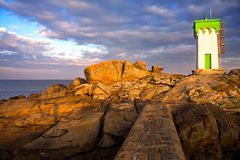 Beacon (Brittany, France) Stock Images
