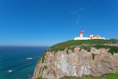 Beacon on Cabo da Roca Royalty Free Stock Images