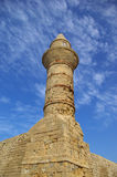 Beacon at Caesarea Royalty Free Stock Photo
