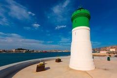 Beacon Cartagena lighthouse in Murcia Spain Stock Photo