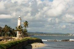 Beacon in Ceylon. The Dutch beacon in city Galle. Ceylon Stock Photography