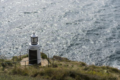 Beacon. A beacon on the coast of the English Channel Royalty Free Stock Photo