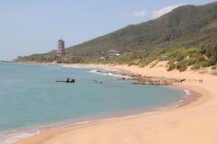 Beacon on the coast of Hainan Royalty Free Stock Photo