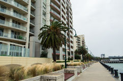 Beacon Cove in Port Melbourne Royalty Free Stock Photography