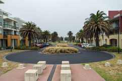 Beacon Cove in Port Melbourne Stock Photography