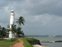 Beacon in Galle. Sri lanka, fort Galle, 2006 Stock Images