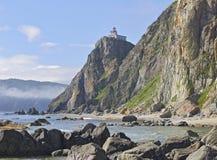 Beacon on the high coast Royalty Free Stock Photos