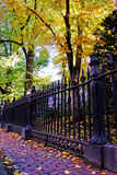 Beacon Hill è una vicinanza ricca negli Stati Uniti Fotografia Stock
