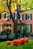 Beacon Hill, Boston. Autumn in Beacon Hill, Boston, USA Royalty Free Stock Photo
