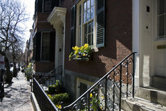 Beacon Hill in Boston Stock Photos