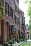 Beacon Hill Boston royalty free stock images