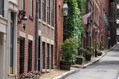 Beacon hill boston Stock Photos